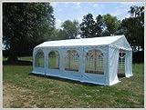 Pavillon Pavillion Festzelt Partyzelt Giant Pro PVC 6x8m 8x6m 6x8 8x6 mit Fenster