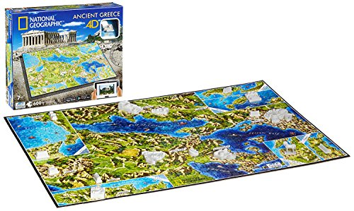 4D Cityscape 61002 National Geographic: Ancient Greece Puzzle