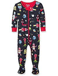 Hatley Organic Cotton Footed Sleepsuit, Pijama para Bebés