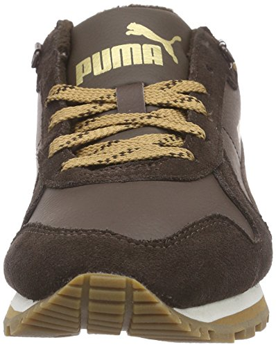 Puma St Runner Demi Winter, Baskets Basses mixte adulte Marron - Braun (chocolate brown-chocolate brown-chipmunk brown 04)