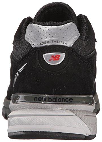 New Balance Da Argento Scarpe Ginnastica M990 Nero Uomo bk4 d HHnFr7P