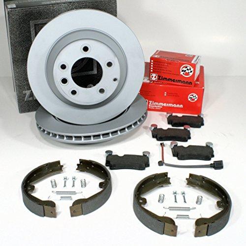 1990 To 2001 Arrière Frein à Main Câble paire pour BMW 3 Series E36-Arrière Disques