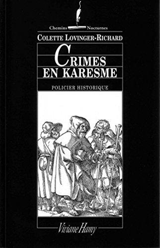 Crimes en karesme: LES LAJOY, VOL.1.