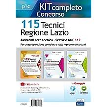 Concorso 115 assistenti tecnici regione Lazio. Kit