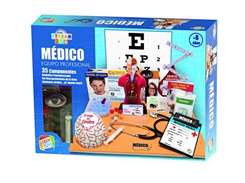 Cefa Toys Equipo Profesional de Médico StreamCefa, Color (21834)