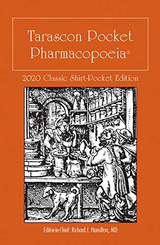 Tarascon Pocket Pharmacopoeia 2020 Classic Shirt-Pocket Edition
