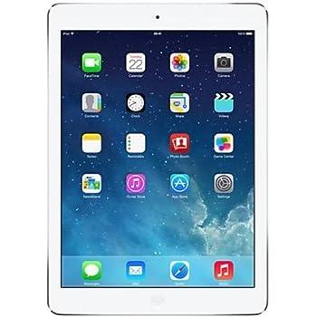 Apple iPad Air (16 GB, Wi-Fi, A7, Tablet 24,6 cm (9,7''), 2048 x 1536 Pixeles) Color Plata - [Enchufe Reino Unido + Conexión USB]