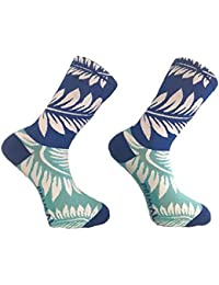 Primal Europe Cycling Socks. Mahalo Floral. Bike Socks. Large   XL (8 fd9c46106