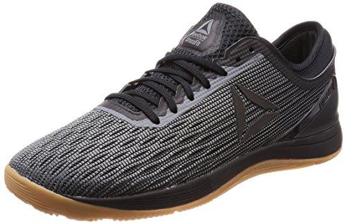 Reebok Herren CrossFit Nano 8.0 Fitnessschuhe, Schwarz (Black/Alloy/Gum), 43 EU (Reebok-herren-casual)
