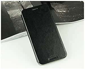For HTC Desire 620G / 620 Dual Sim Luxury Leather Slim Flip Cover Case with Stand by MOFI - Black