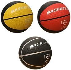 Body Maxx BKB 7 Rubber Basketball, Kids Size 7 (Multicolor)