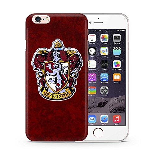 """iPhone 7 Harry Potter Maisons Étui en Silicone / Coque de Gel pour Apple iPhone 7 (4.7"""") / Protecteur D'écran et Chiffon / iCHOOSE / Gryffondor"""