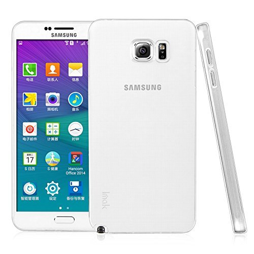 Memore 0.3MM Ultra Thin Soft Silicone TPU Silicone Flexible Transparent Back Case Cover for Samsung Galaxy Note 5  available at amazon for Rs.110