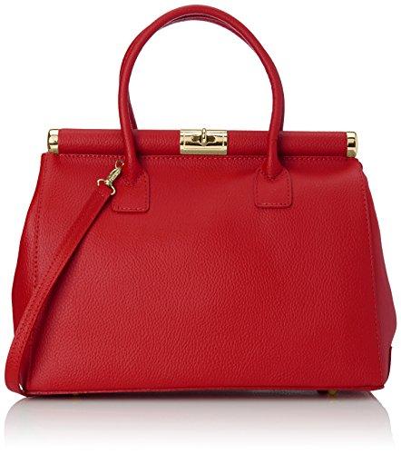Chicca Borse 8005 Borsa a Mano, 35 cm, Rosso