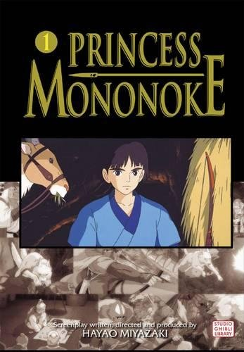 PRINCESS MONONOKE FILM COMIC GN VOL 01: v. 1 por Saki Hiwatari