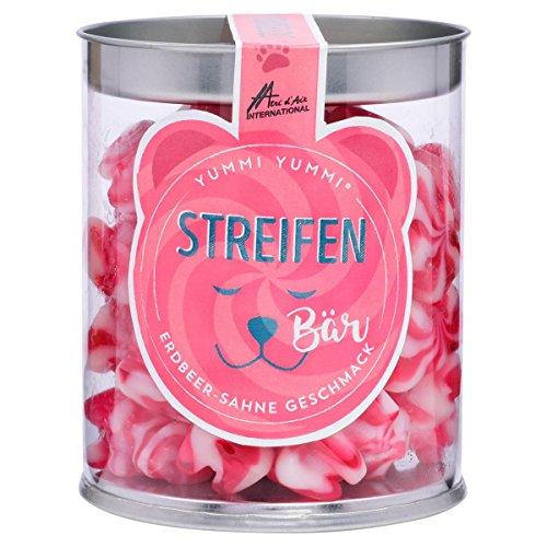 Yummi Yummi Streifenbären mit Erdbeer-Sahne Geschmack 200g (1er Pack)
