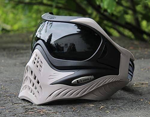 VForce Grill Paintball Maske Black on Grey Dunkles Thermal Glas -