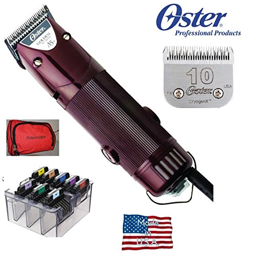 rotschopf24-edition-oster-golden-a5-2-speed-tondeuse-professionnelle-incl-15-mm-metal-tete-de-rasage