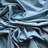 Licht Pastell-Blau 100% Baumwolle Denim Stoff Gewicht: