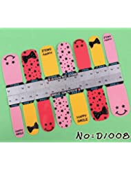 Stickers Nail patch ongles Autocollant - Noeud Smile - Nail art