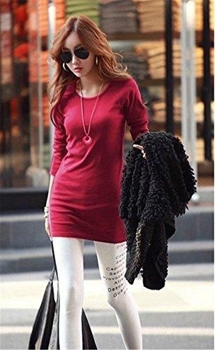 Ramonala Femmes Plaid Vérifié à Manches Longues Shirt Lâche Occasionnel Tops Blouse Dentelle Tunique Femme Rouge