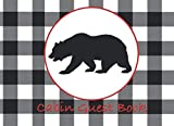Cabin Guest Book: Cottage, Vacation Rental, Airbnb, Guest House, Bed and Breakfast, Mountain Home, Lake Home Guest Book Sign-in and Leave Your Comments