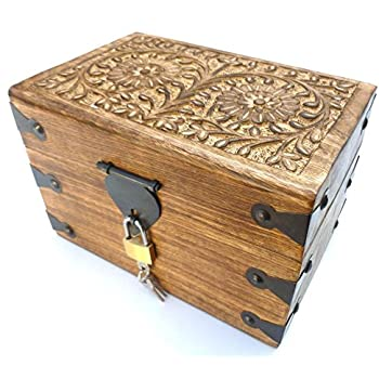 aufbewahrungstruhe holztruhe holzkiste truhe kiste box. Black Bedroom Furniture Sets. Home Design Ideas