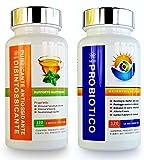 GBSci combinazione Probiotico & Antiossodante Detox– combinazione unica di puro Lactobacillus Acidophilus Probiotico e Antiossidante purificatore detox – Protegge contro le infezioni; ricostituisce l'organismo in seguito a un antibiotico; allevia fastidi dovuti sindrome da intestino irritabile; spazza via le tossine rimuovendo i rifiuti intestinali; accelera il metabolismo; . Ripristino avanzato con formula garanzia SODDISFATI O RIMBORSATI. 100 % Vegetariano/Vegano e Gluten Free.