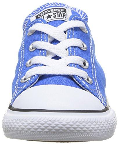Converse - Chuck Taylor All Star Ox, Chaussures De Sport Unisexes - Enfants 0-24 Bleu (bleu - Bleu)