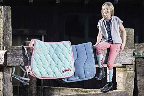 HKM 99766100.0155 Schabracke -Wendy Denim- Pony VS, jeansblau