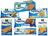 Gullon Sugar Free Biscuits Assorted Pack of 7
