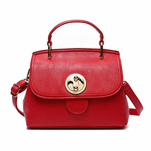Red Handtaschen-Schulter-Kurier-Beutel-Kleidung Mode-Handtasche Hochzeits-Tasche Rot