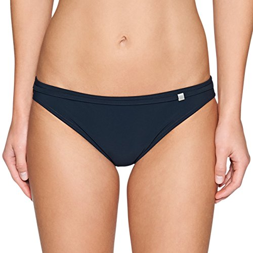 Marc O'Polo Body & Beach Damen Damen Bikinihose bikini-slip, Damen, Blau (midnight blue), 44 (EU)