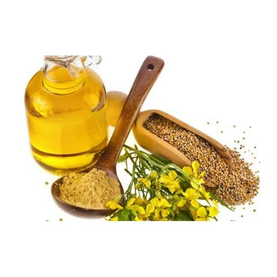 Jivabhumi Organic Cold Pressed Mustard Oil Edible (500ml)