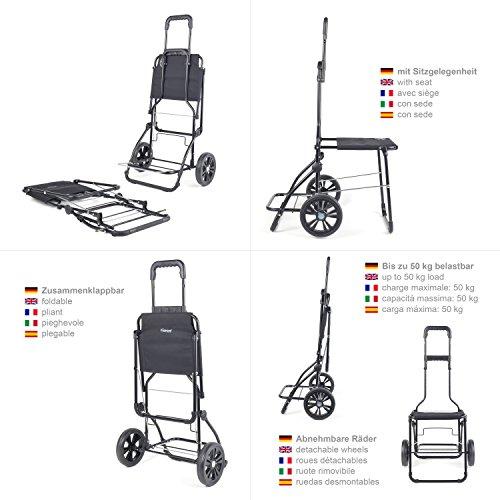 Einkaufshilfe für Senioren – Original Andersen Komfort Shopper - 2
