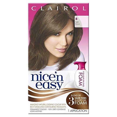 Clairol Nice n Easy Colour Blend foam 6 Light Brown