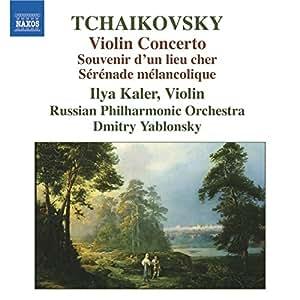 Violinkonzert/Souvenir