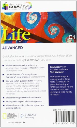 Life - First Edition C1.1/C1.2: Advanced - ExamView CD-ROM