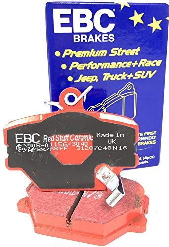 EBC RedStuff smart fortwo 450 451 452 DP31287