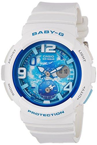 51 smG84 eL - Baby G Digital Girls BGA 190GL 7BDR watch