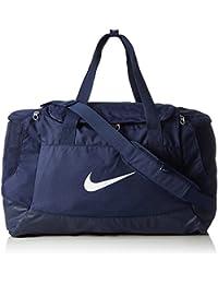 Nike Club Team Swoosh Duffel M Bolsa de deporte, 53 cm, 52 liters, Azul (Dunkelblau)