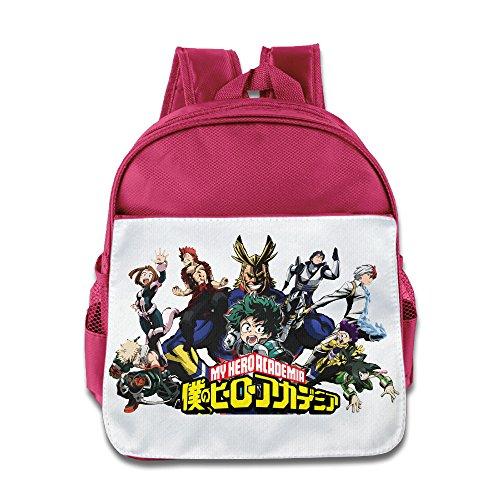 My Hero Wissenschaft Logo –-Edgy Kinder Stilvolle Lunch Kit Schule Tasche rosa rose Einheitsgröße