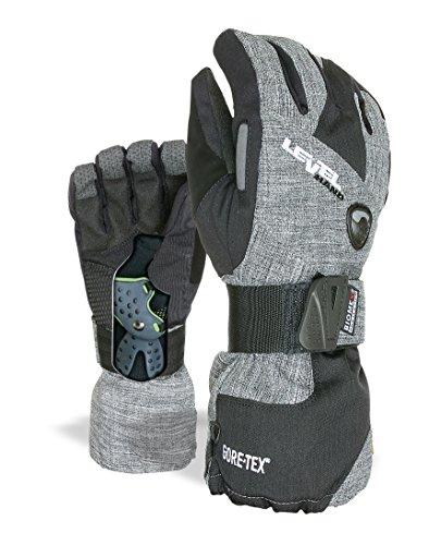 Level Herren Half Pipe Gore-Tex Handschuhe, Anthracite, 9,5