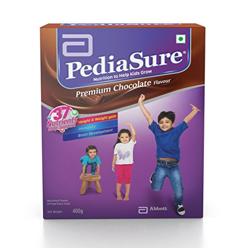 pediasure Premium Chocolate - 400 g (Refill pack)  available at amazon for Rs.475