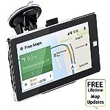 3D Navigatore Satellitare 7 pollici GPS Auto Smart Voice Ricordando 8GB per 48 paesi