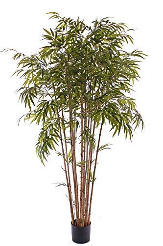 artplants.de Bambus mehrstämmig, wetterfest, 180cm - Künstlicher Baum