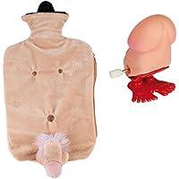 Naughty Secret Santa Geschenk Pack für Frauen–Willy Wärmflasche & Wind Up Jumping Willy preisvergleich bei billige-tabletten.eu