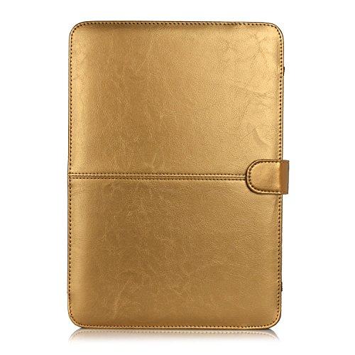 HASESS PU-Leder Case Hülsen für Macbook Air 11-Zoll - Weich Folio Hülsen Case Notebook Laptop Tasche Tragen Pouch Abdeckung für Apple Macbook Air 11.6