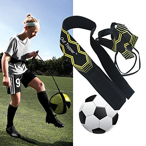 Rechoo Elastic Kick Solo Soccer Trainer, Best Football Training Assistance for Trainer Test