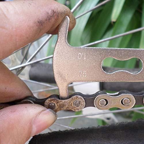 Snner Fahrrad-Ketten Checker Verschleißanzeiger Werkzeug Messgerät Reparatur-Checker Messen